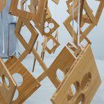 bamboe industriële productie